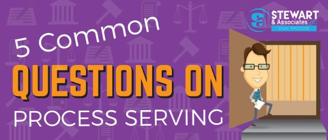 Common Questions on Process Serving [Infographic]